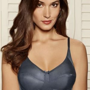 Amante Non Padded Non Wired Everyday Bra Grey